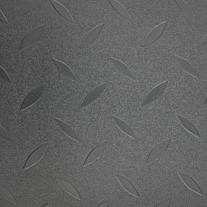 Traffic Vinyl Flooring One Leaf Pattern DXT-9801