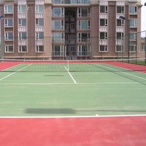 PVC Sports Tennis Floor Granules Pattern