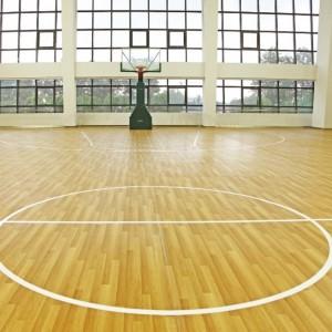 Basketball Court Floor Oak Pattern 1323X