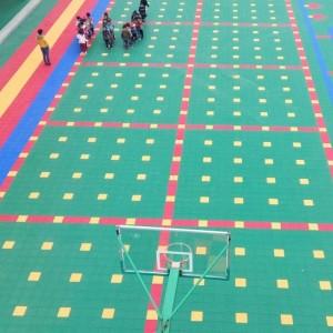 Kindergarten Floor Tile Floor Suspended Floor