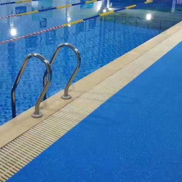 Swimming Pool Flooring Water Diamond Pattern DXS-2001 Featured Image